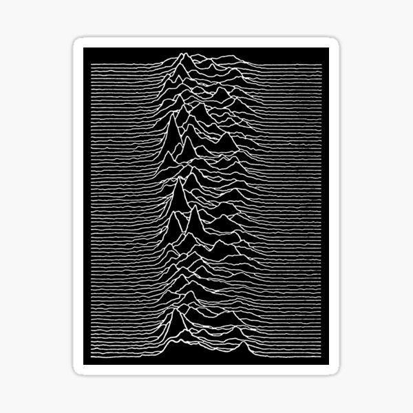 Unknown Lines Sticker