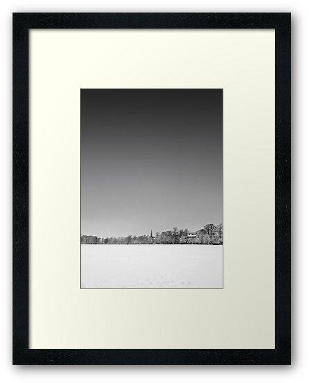 Harrogate Winter Skyline by eatsleepdesign