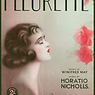FLEURETTE  (vintage illustration) by ART INSPIRED BY MUSIC