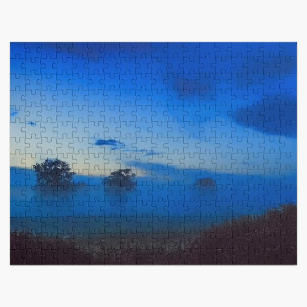 June mist at Clifton-Upon-Dunsmore Jigsaw Puzzle
