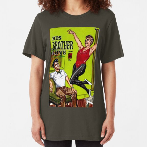"""His Brother Love"" Slim Fit T-Shirt"