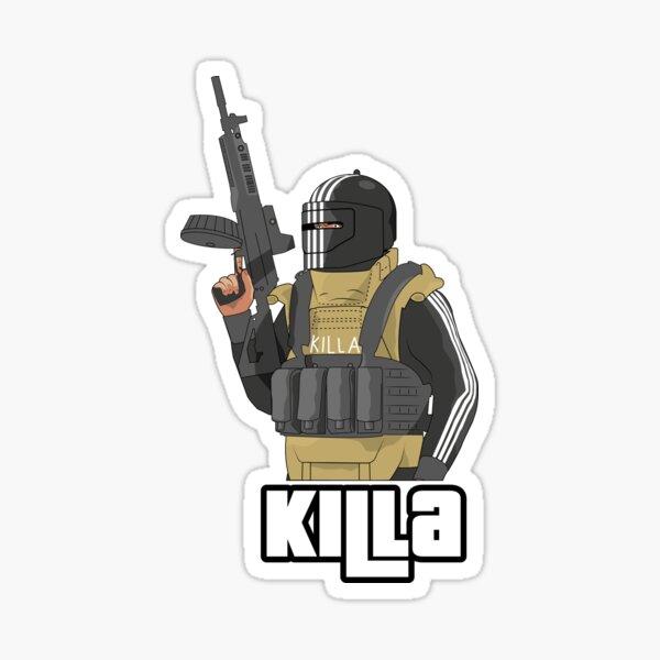 KIlla - Escape From Tarkov - GTA Style (blue) Sticker