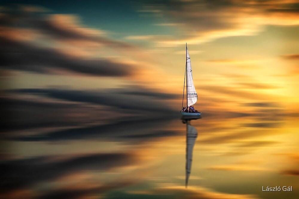 Sailing by László Gál