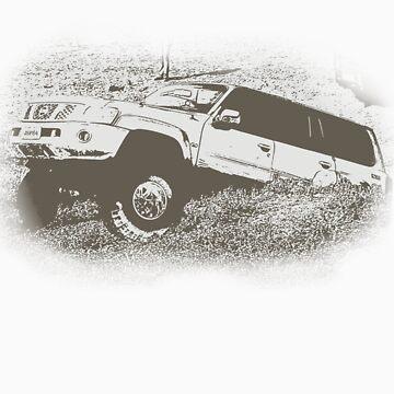 Nissan Patrol JSP84 by JezzSP1984