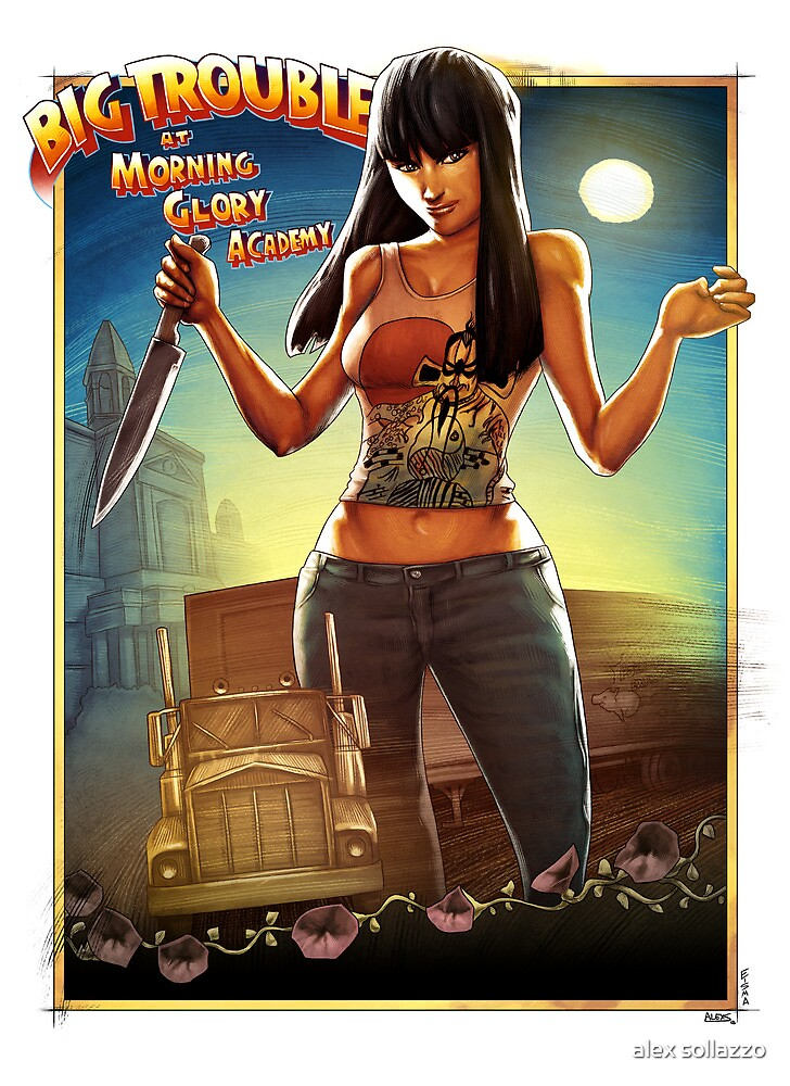 Big Trouble at Morning Glory Academy by alex sollazzo