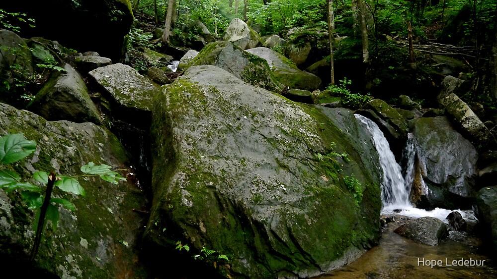 Bent Run Waterfall_2 by Hope Ledebur