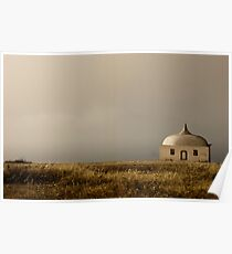 Cabo Espichel at sunset Poster