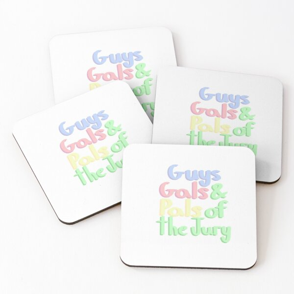 Guys Gals and Pals Coasters (Set of 4)