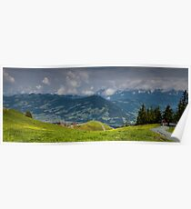 Tyrolean Panorama Poster