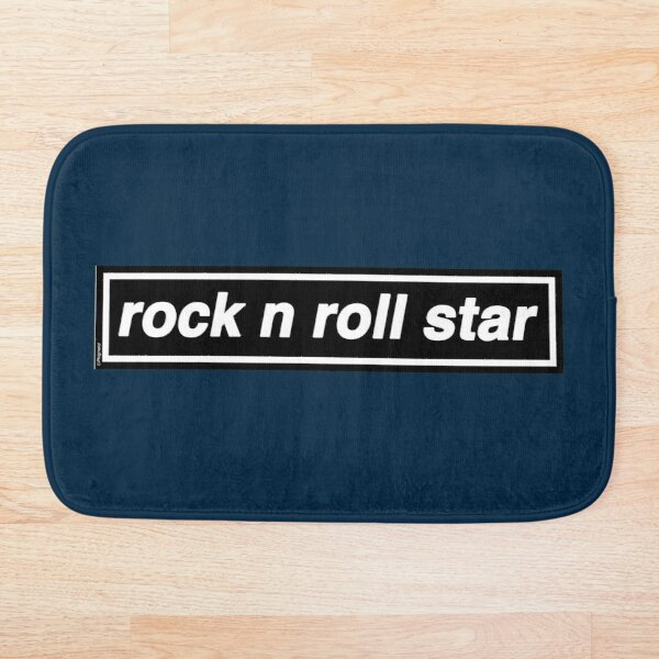 Rock n Roll Star - OASIS Band Tribute - MADE IN THE 90s Bath Mat
