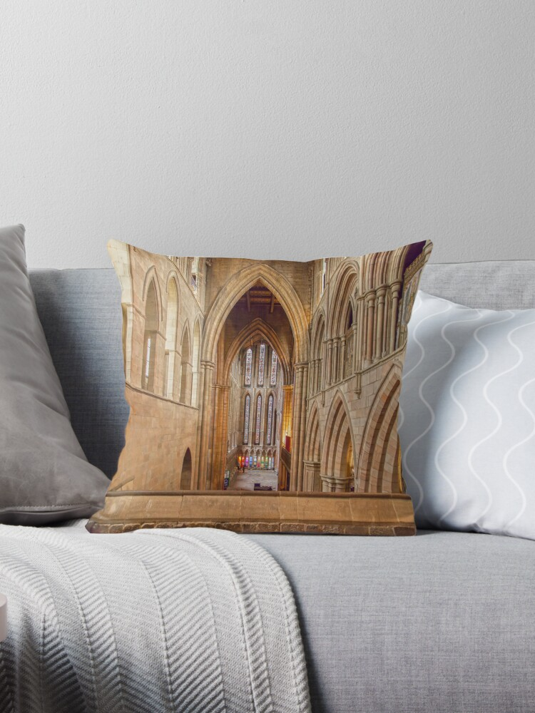 Hexham Abbey by David Patterson