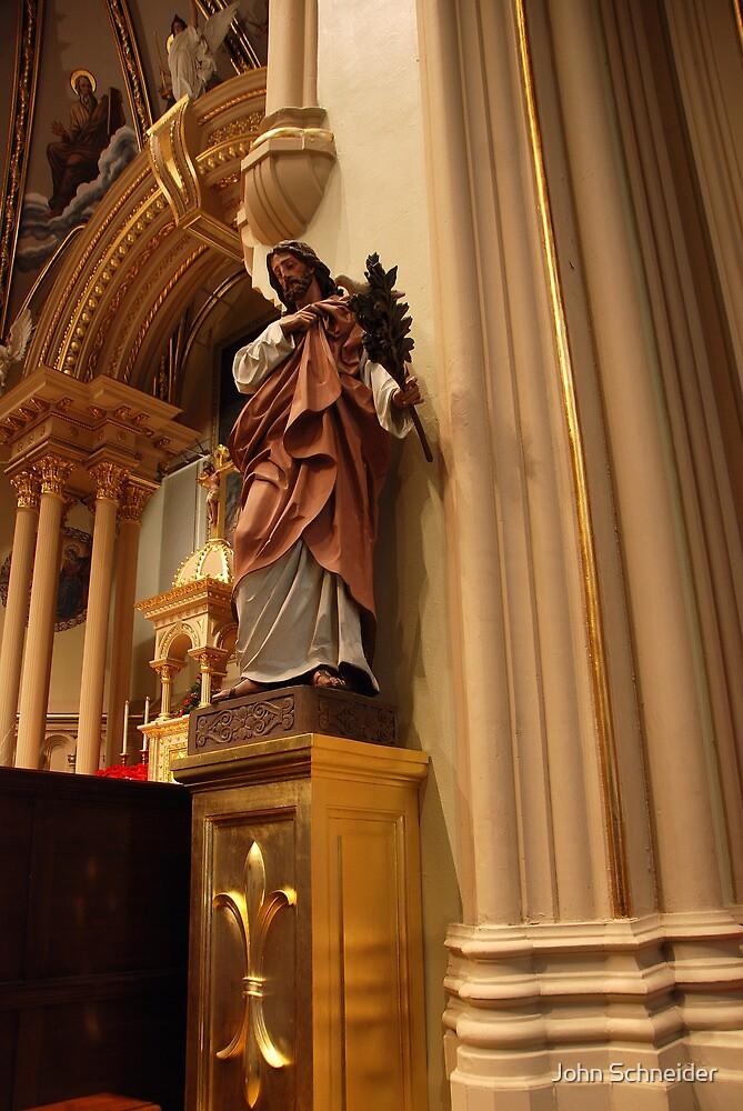 Saint Joseph (1) by John Schneider