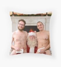 Merry Christmas from Seth & James Throw Pillow