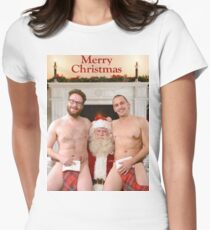 Merry Christmas from Seth & James Womens Fitted T-Shirt