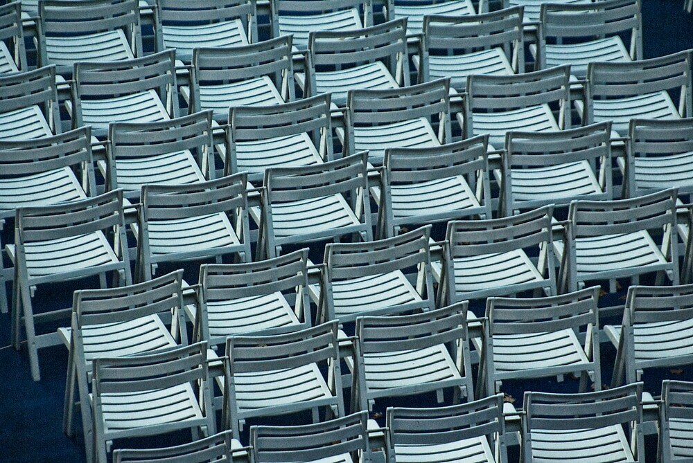 Chairs in Chicago No. 4632 by Randall Nyhof