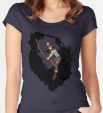 Lara Croft Women's Fitted Scoop T-Shirt