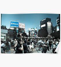 Shibuya Intersection Poster