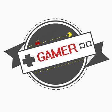 Certified Gamer by Rascalville