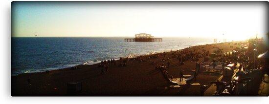 Brighton Beach #1 by Daniel Roberts