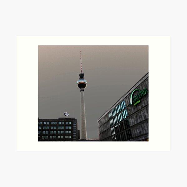 Berlin TV Tower - Berliner Fernsehturm Art Print