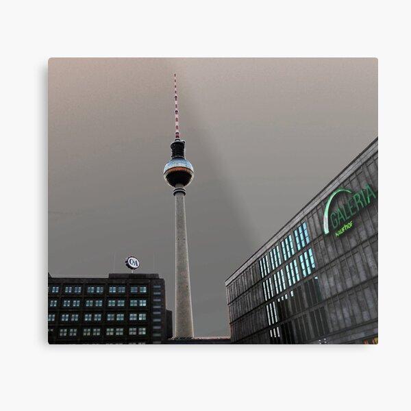 Berlin TV Tower - Berliner Fernsehturm Metal Print
