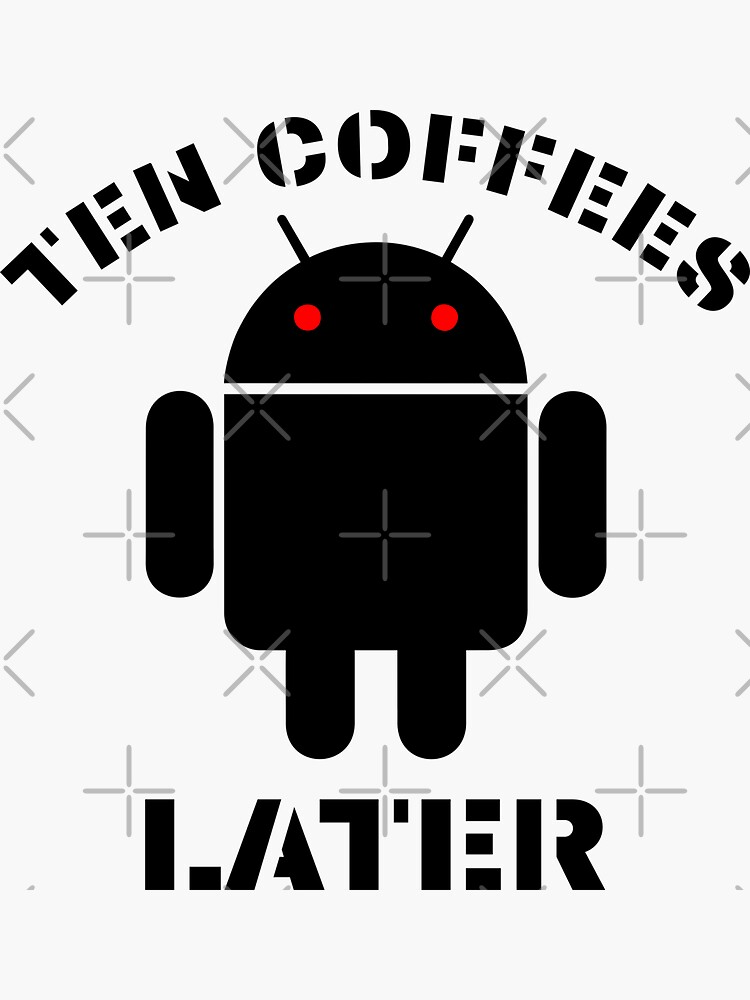 TEN COFFEES LATER by carlarmes