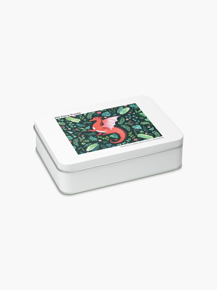 Alternate view of Tropical Dragon Jigsaw Puzzle