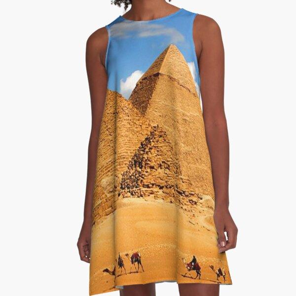 The Pyramids of Giza A-Line Dress