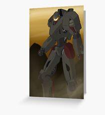 Longsword - Jaeger Greeting Card