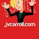 jvcarroll.com logo tee by jvcarroll