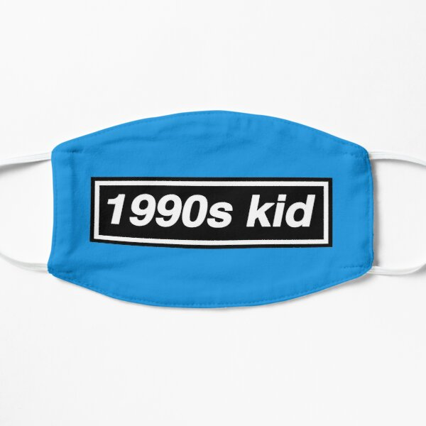 1990s Kid - OASIS Band Tribute - MADE IN THE 90s Small Mask