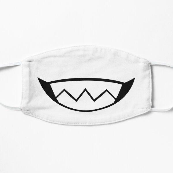White Grinny Flat Mask