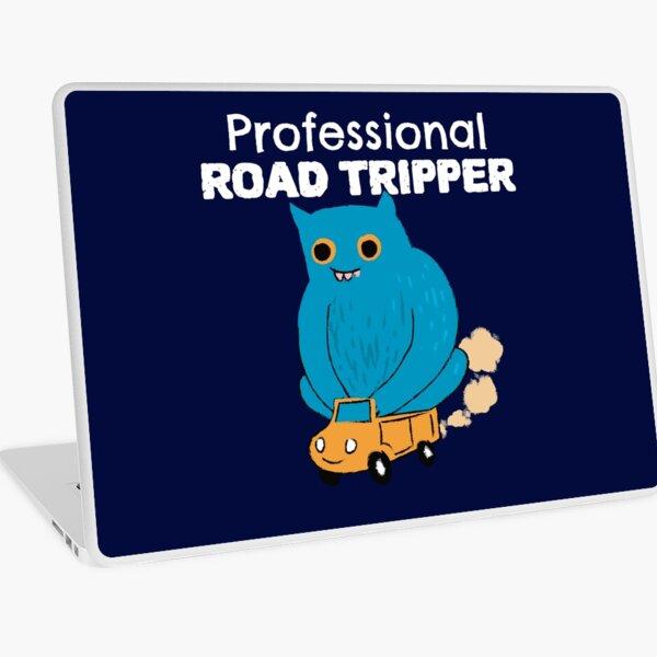 Professional road tripper Laptop Skin