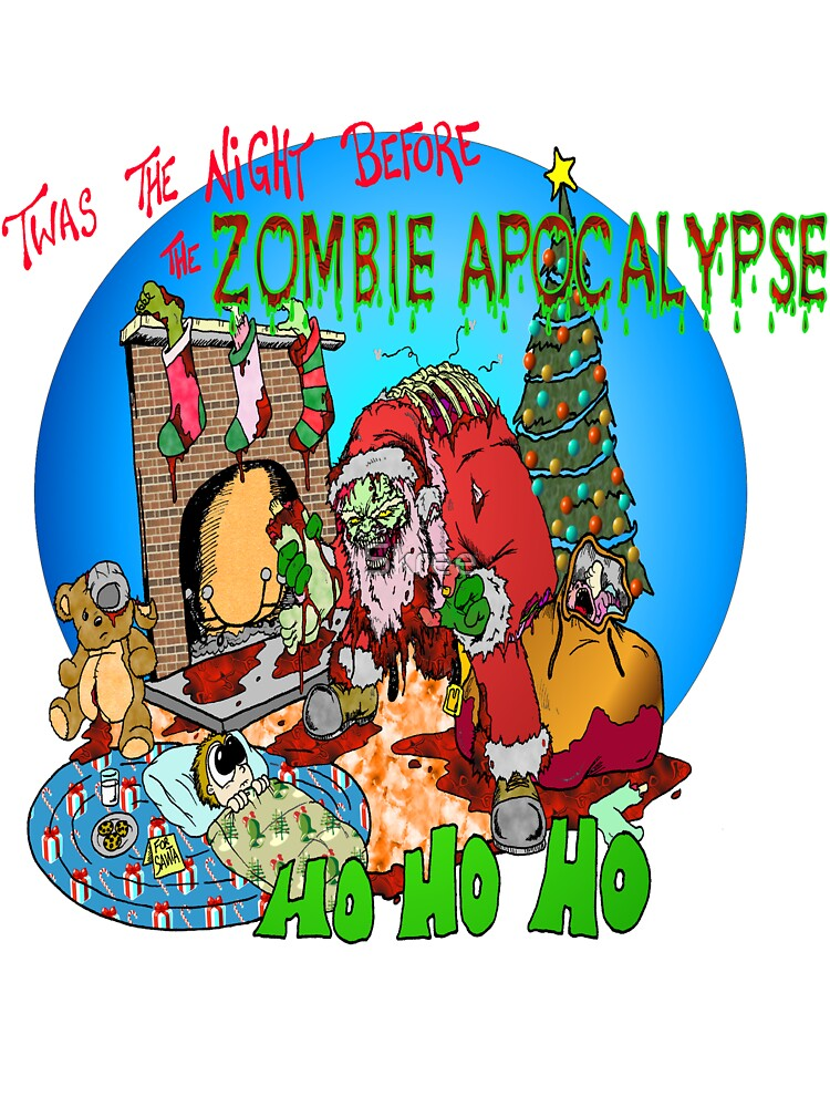 Merry Zombified Christmas by Skree