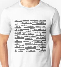 Landscape a background Unisex T-Shirt