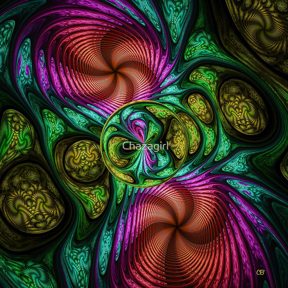 Alien Pod by Chazagirl