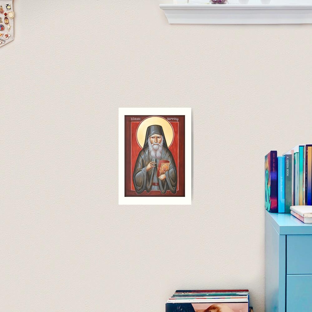 St Porphyrios Art Print