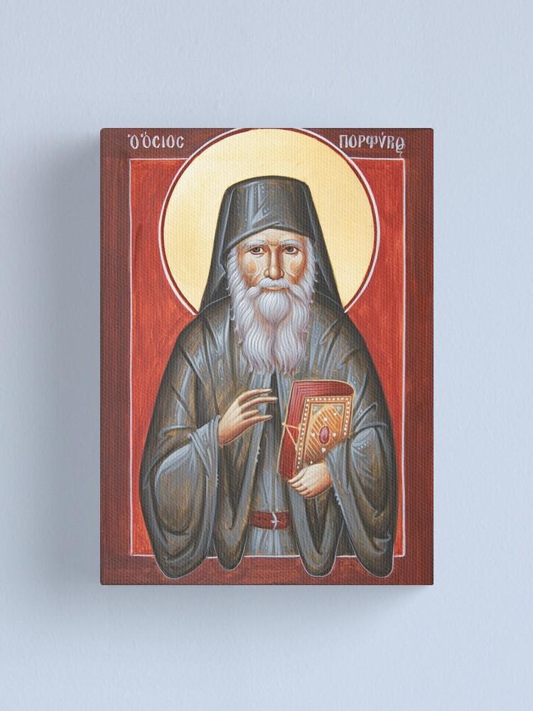 Alternate view of St Porphyrios Canvas Print