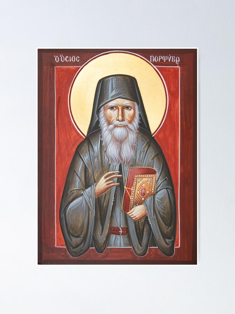 Alternate view of St Porphyrios Poster