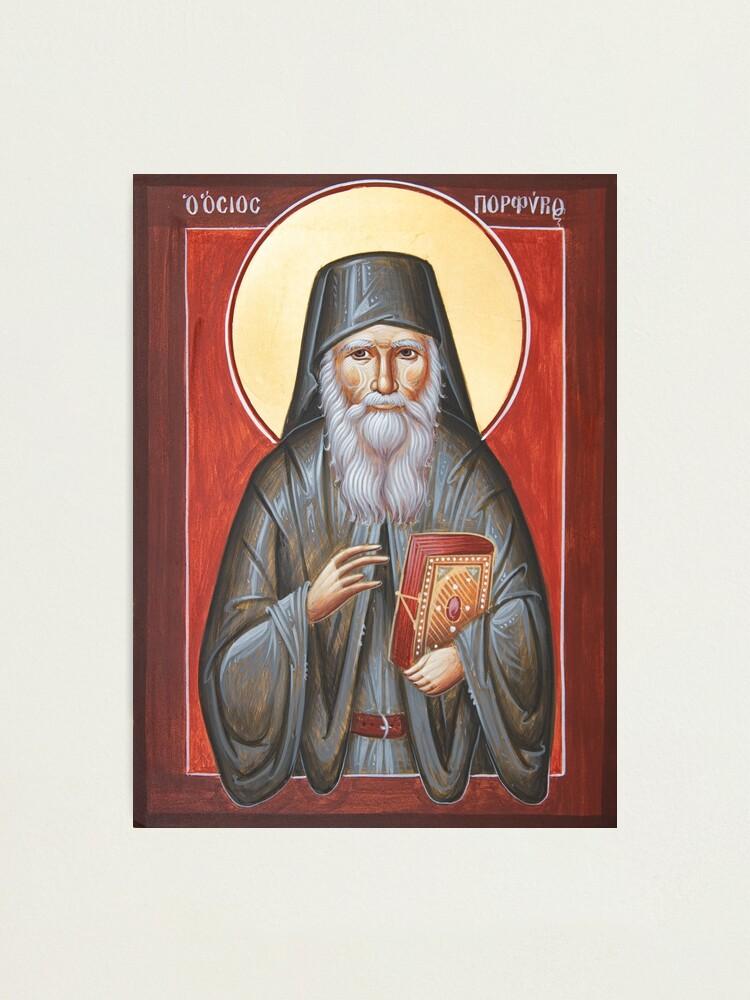 Alternate view of St Porphyrios Photographic Print