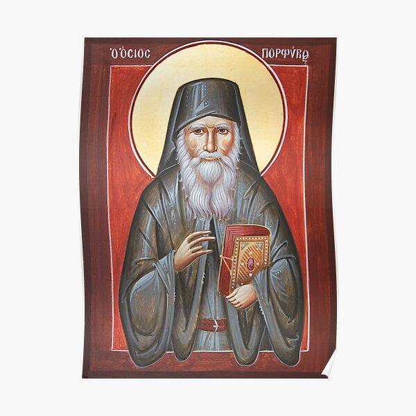 St Porphyrios Poster