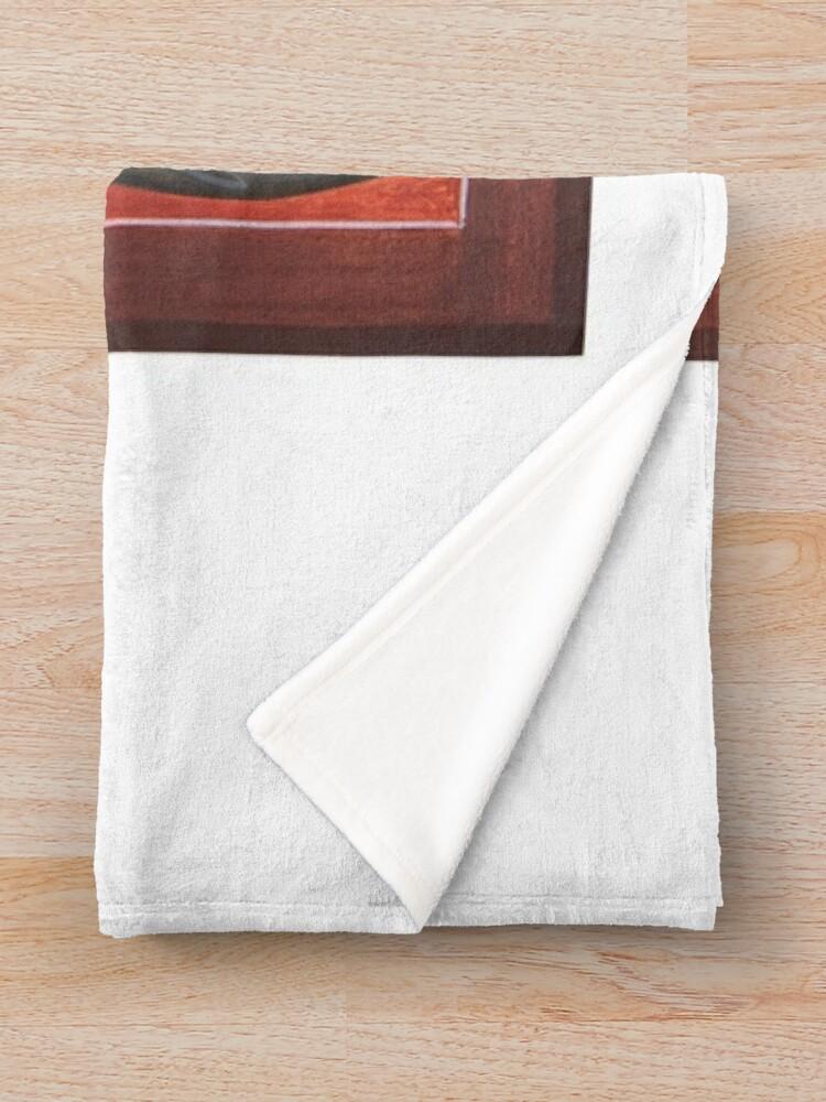 Alternate view of St Porphyrios Throw Blanket