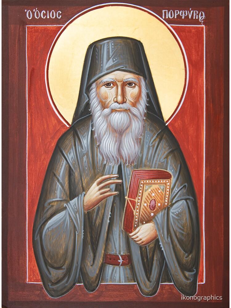 St Porphyrios by ikonographics