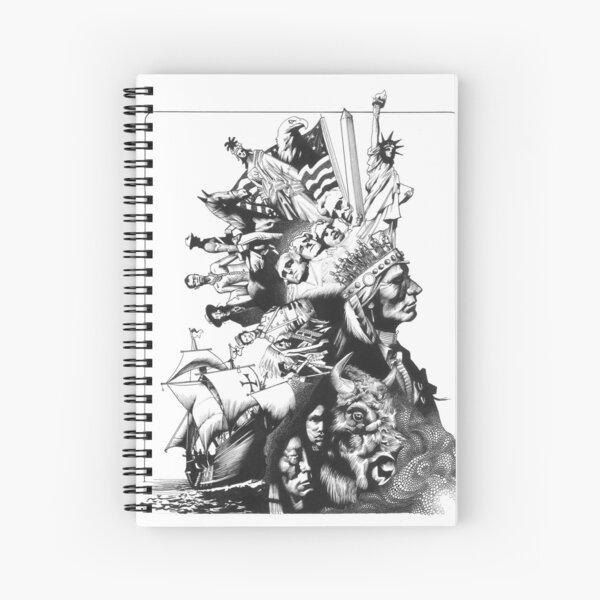 Native America  Spiral Notebook