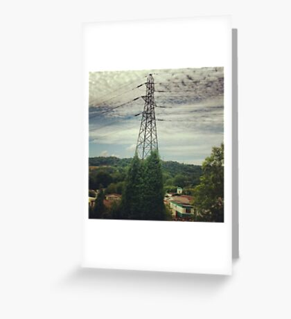 Natural Pylon Greeting Card