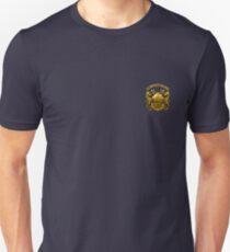 Camiseta ajustada Buceador marino Deep Sea (sm)