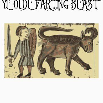 Ye Olde Farting Beast by llamafist