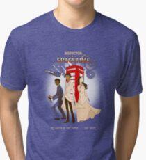Inspector Spacetime II Tri-blend T-Shirt