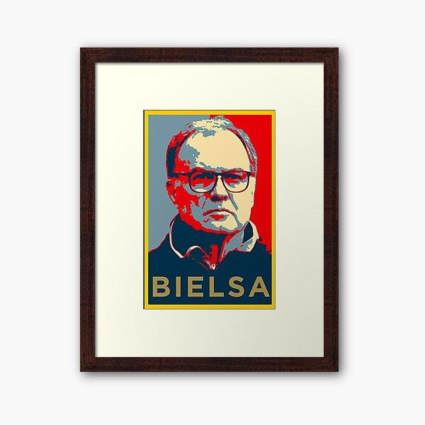 Marcelo Bielsa Artwork Framed Art Print