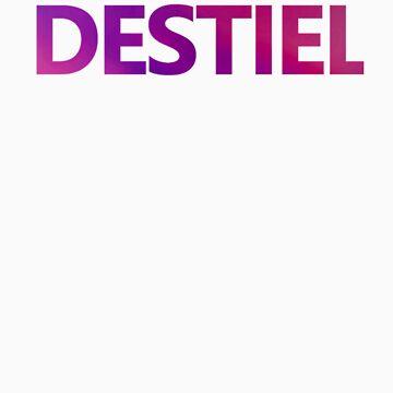 "Purple ""Destiel"" Shirt by anadelis"